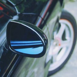 ZOOM Wide Angle Blue Mirror Lenses For Miata MX5 MX-5 ALL YEARS JDM Roadster : REV9 Autosport