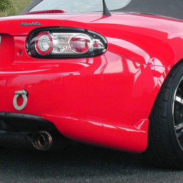 TUCKIN99 Rear Bumper Skirts For Miata MX5 MX-5 06-08 JDM Roadster : REV9 Autosport