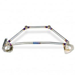 Carbing Titanium Front Strut Bar