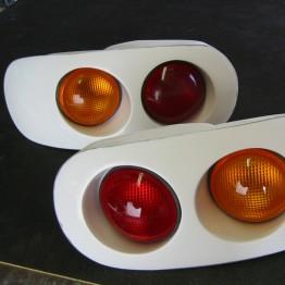 TRAP Dual Bulb Tail Lights For Miata MX5 MX-5 89-97 JDM Roadster : REV9 Autosport