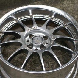 Work XSA-02c 17x8 +20/+25 (4x100) Wheels