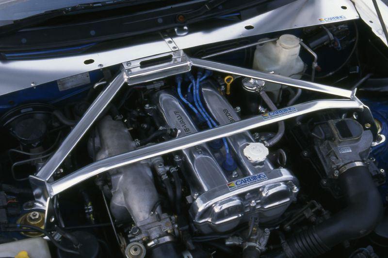 Carbing Front Strut Bar Type 2 For Miata MX-5 NA | REV9
