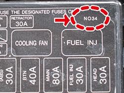 nielex fuse box sticker for mazda miata mx5 89 05 rev9 Durango Fuse Diagram please find this number on your car\u0027s fuse box to have the correct diagram